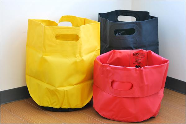 室内でもアウトドアでも使える、おしゃれな防水バッグ