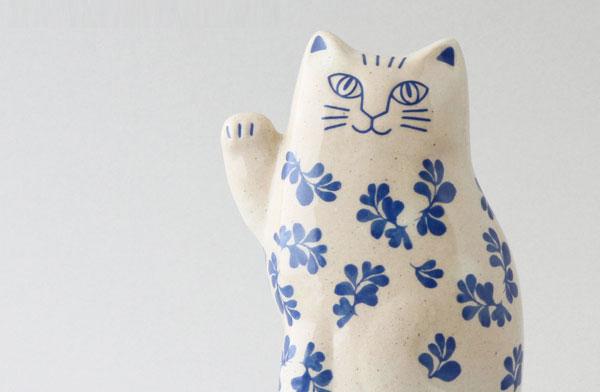 おしゃれなリサ・ラーソンの招き猫