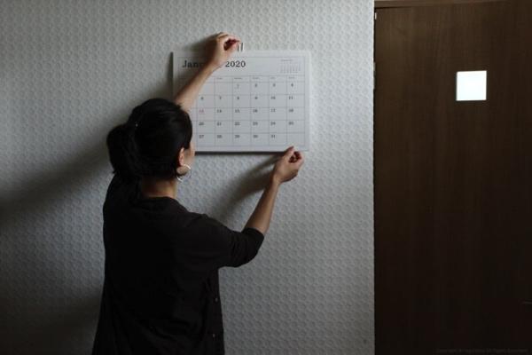 おしゃれな壁掛けシンプルカレンダー2020年版