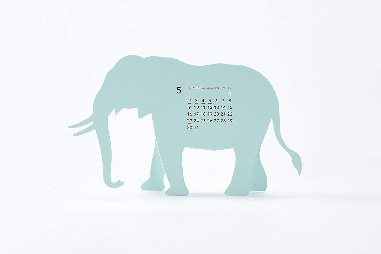 おしゃれな卓上サファリカレンダー2021年版