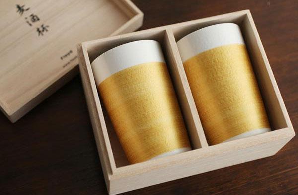 おしゃれなビールグラス