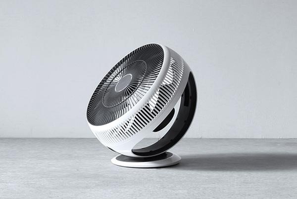 機能性と先進性を体現したデザインの、おしゃれな扇風機