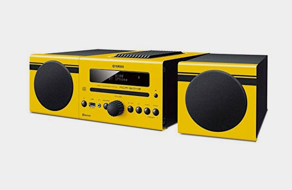 ラジオ・CD・USBメモリーの音楽が再生できる、おしゃれなマイクロコンポ