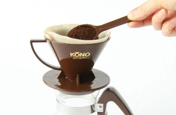 美味しいコーヒーの入れ方にこだわった、おしゃれなドリッパー
