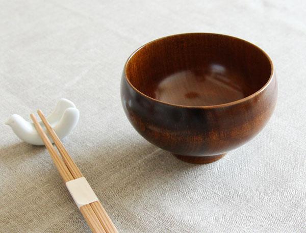 我戸幹男商店(ガトミキオショウテン) MATEVARI 拭漆 お椀 汁椀