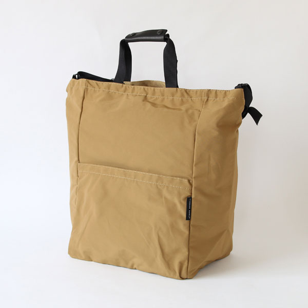STANDARD SUPPLY(スタンダードサプライ)STAND UP 2WAY TOTE BEIGE 2WAYバッグ