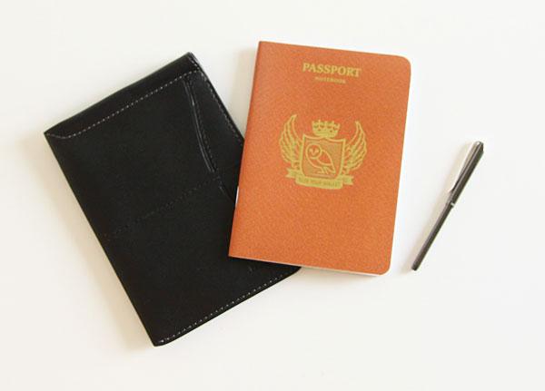 海外旅行におすすめの、おしゃれなパスポートケース