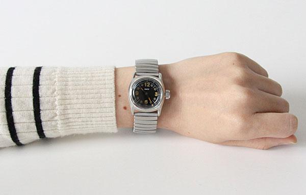 ヴィンテージな雰囲気を楽しめる、おしゃれな腕時計