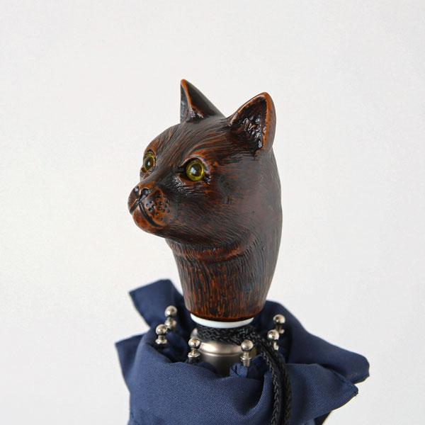 Guy de jean(ギ ドゥ ジャン) Guy de jean 折りたたみ傘 Cat