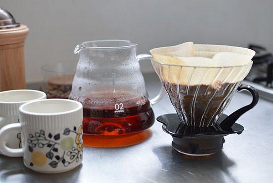バリスタも愛用する、おしゃれなコーヒーサーバー