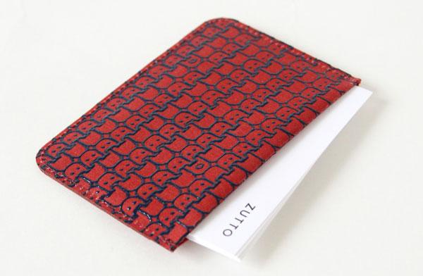 和紙の風合いを活かした、おしゃれなパスケース