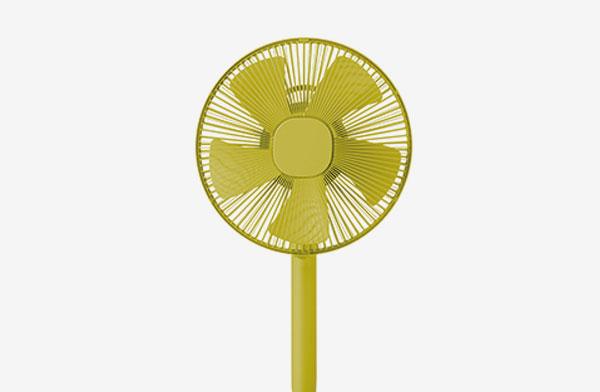 コンパクトながらも確かな風力のおしゃれな扇風機