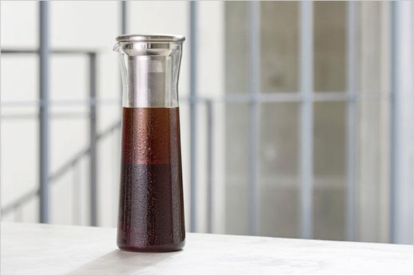 手軽に水出しコーヒーが作れる、おしゃれなコーヒージャグ