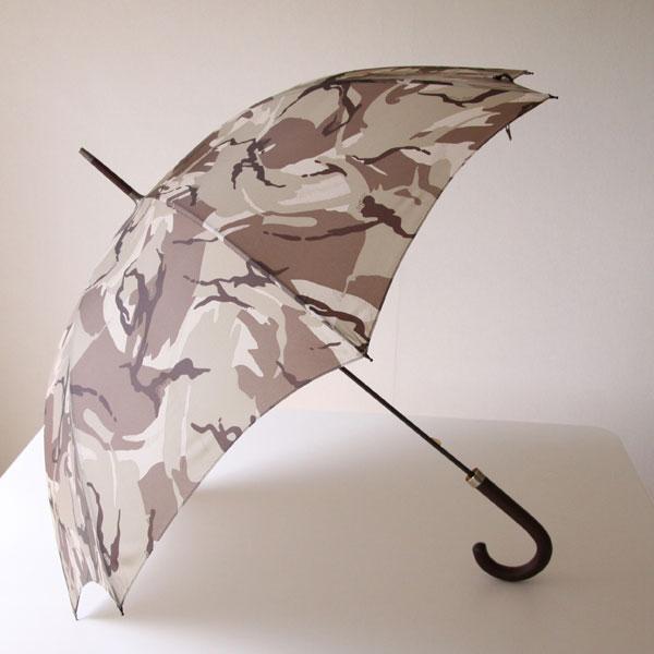 おしゃれな迷彩柄の男性用雨傘