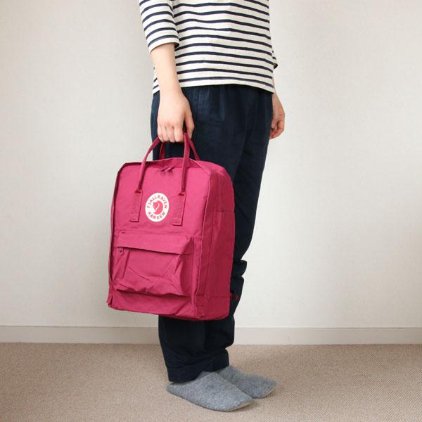 手提げバッグ・リュックとして2通り楽しめる、おしゃれなカンケンバッグ