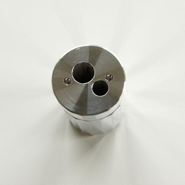 ドイツの熟練工によって作られた、おしゃれなアルミニウム製の高級鉛筆削り