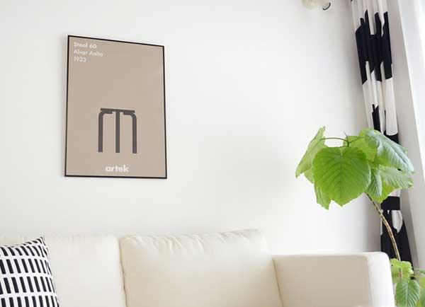 部屋の印象をグッと変える、おしゃれなポスター20選