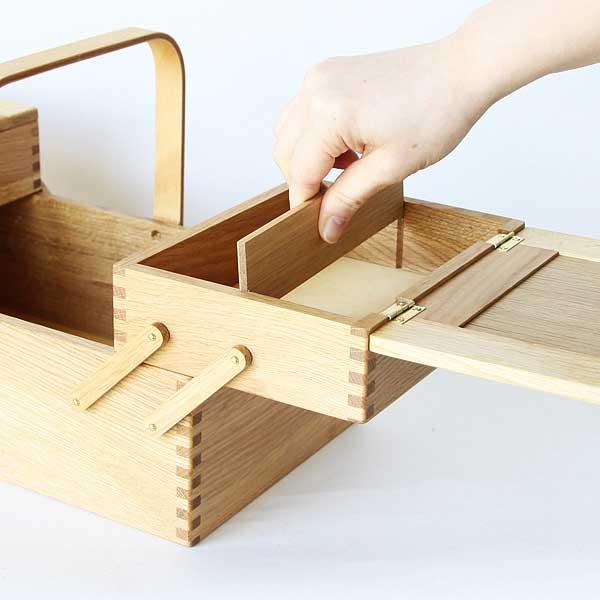 おしゃれな北欧風のお裁縫箱