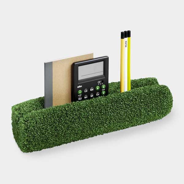 おしゃれな芝生のデスクオーガナイザー