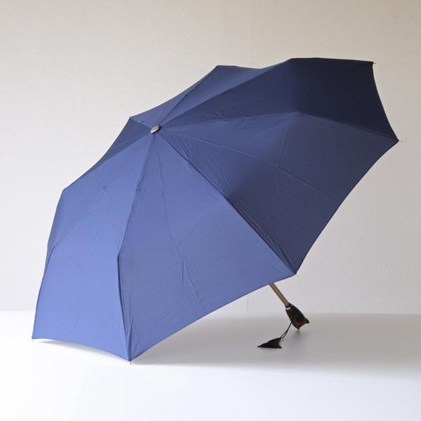 犬の顔がハンドルになった、おしゃれな軽量折りたたみ傘
