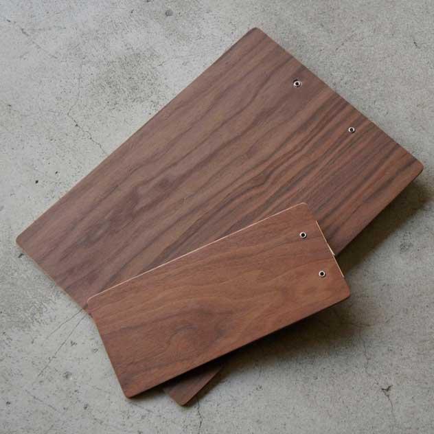 おしゃれな木製バインダー