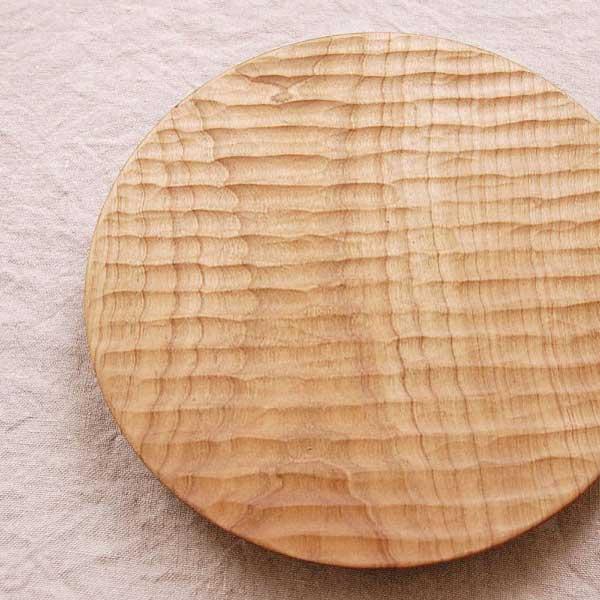 おしゃれな木のパン皿