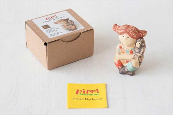 リサ・ラーソンがデザインした、おしゃれな長くつ下のピッピ人形