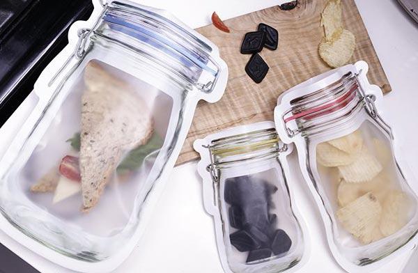 行楽やピクニックに最適な、おしゃれなジッパーバッグ