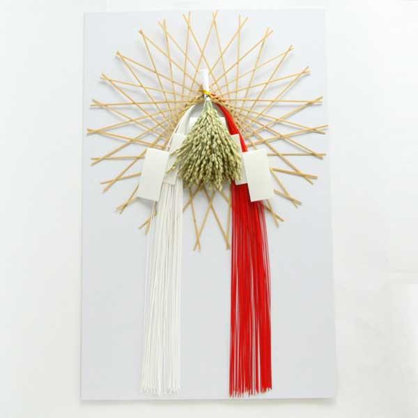 福を招く縁起のいい、おしゃれなお正月用の玄関飾り