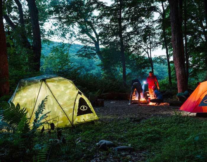 組立が簡単で初心者にもおすすめの、おしゃれなテント