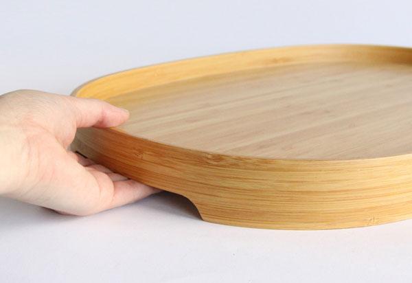 持ちやすく美しい、おしゃれな竹のお盆