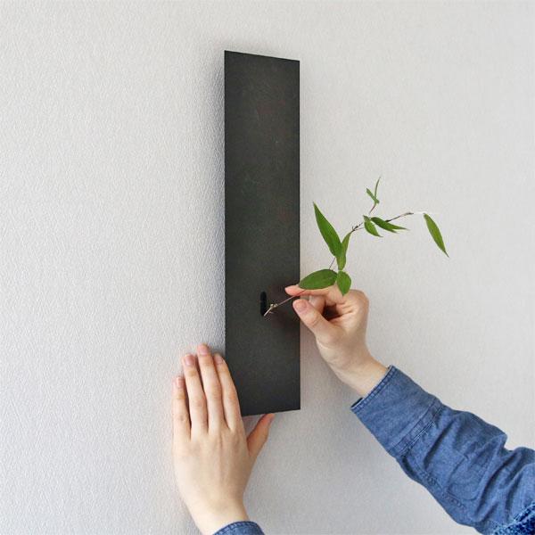 品のある佇まいの、おしゃれな壁掛け花器