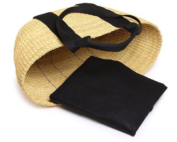 フランス人と日本人の女性のデザイナーによる、おしゃれなかごバッグ