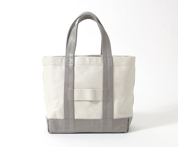 ラグジュアリーな質感が特徴の、おしゃれなイタリア製レザートートバッグ