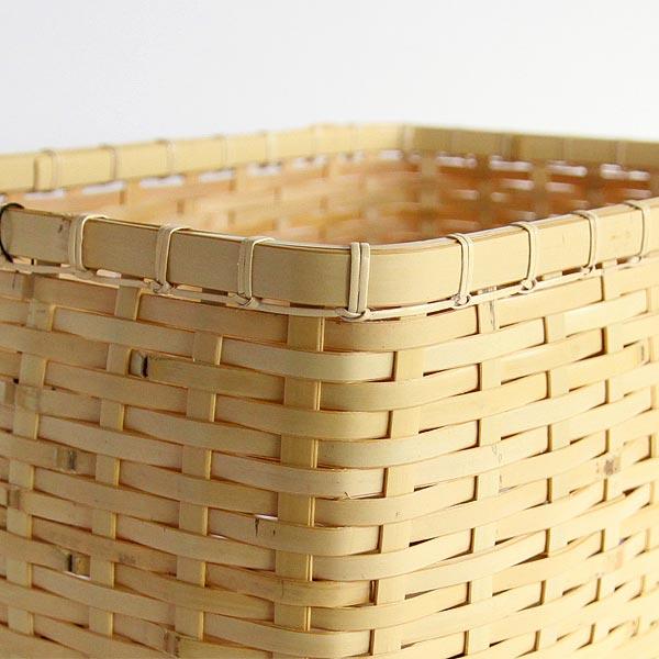 収納力と美しさを持った、おしゃれな竹の籠
