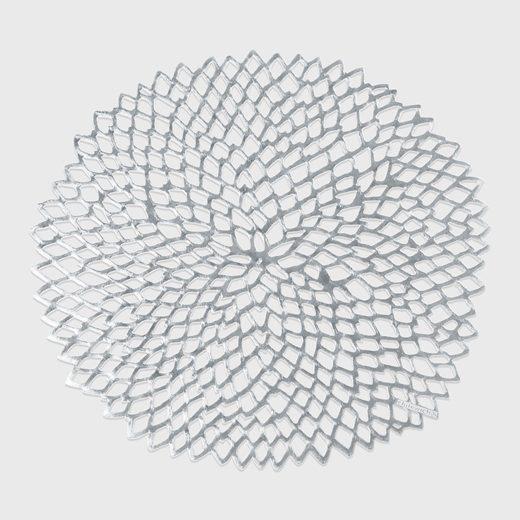 幾何学模様がエレガントな、おしゃれなデザインのランチョンマット