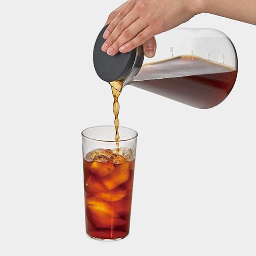 渋味のないマイルドな味わいのコーヒーができる、おしゃれな水出しコーヒーブリューワー