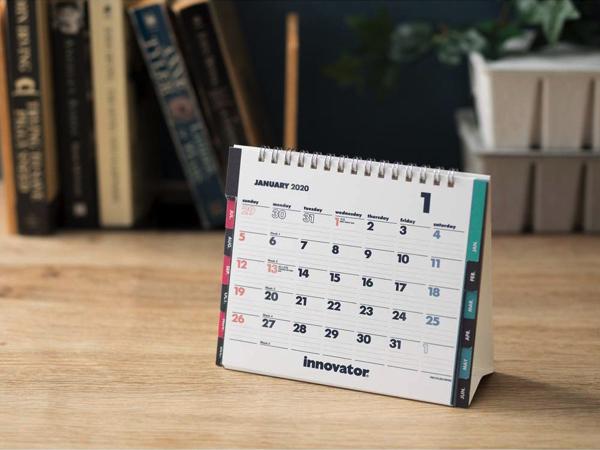 北欧で40年に渡るロングセラーの、おしゃれな卓上カレンダー2020年版