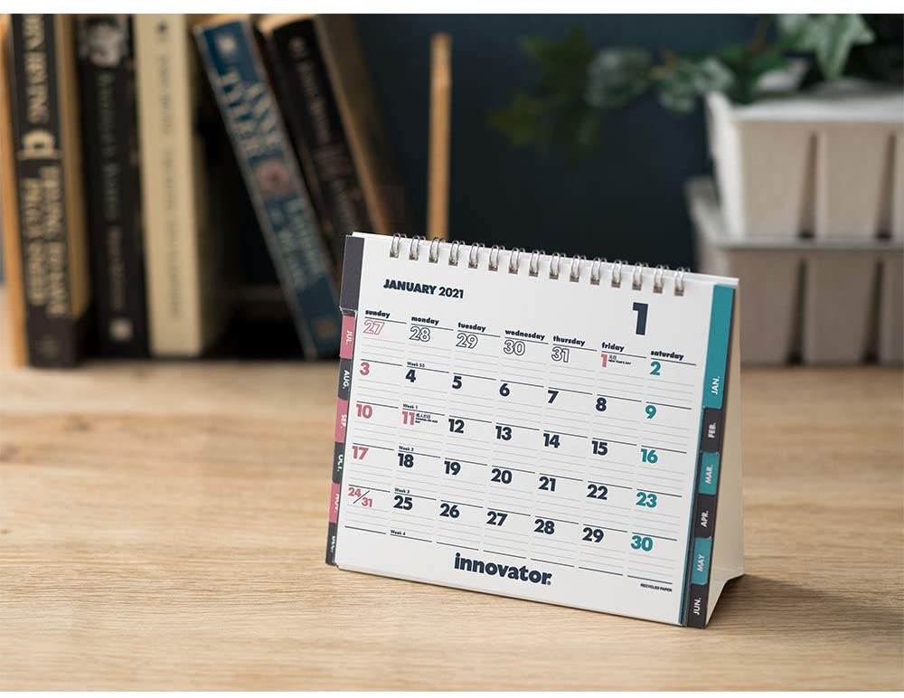 北欧で40年に渡るロングセラーの、おしゃれな卓上カレンダー2021年版