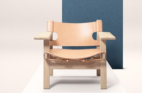 気高きデンマークデザインの傑作、おしゃれなラウンジチェア
