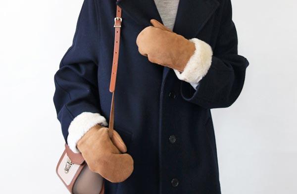 洗練されたデザイン性と確かな品質の、イギリス製のおしゃれな革のミトン