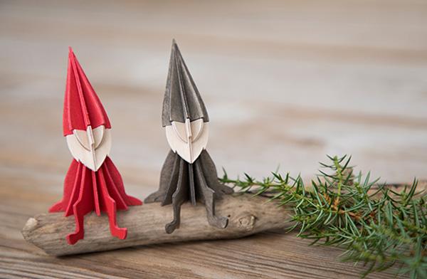 おしゃれな北欧の妖精のクリスマスオーナメント