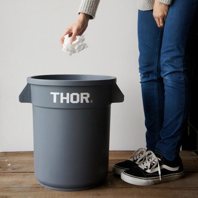 シンプルでおしゃれなデザインの屋外用のゴミ箱