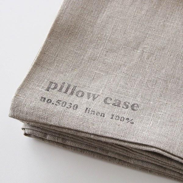 使い込むほど味の出る、おしゃれな枕カバー