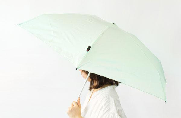 シャーベットカラーのおしゃれな折りたたみ傘