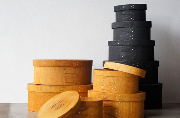 インテリアのアクセントとしても映える、おしゃれな木製のオーバルボックス