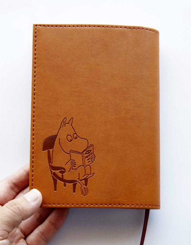 ムーミンキャラクターの愛らしさが詰まった、文庫本サイズのおしゃれなブックカバー