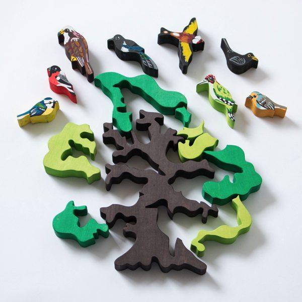 安心安全。ハンガリーのおしゃれな木製パズル