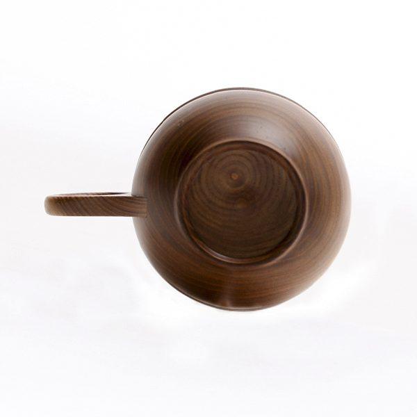 北海道の自然の木々から作られた、おしゃれな木製のコーヒーカップ