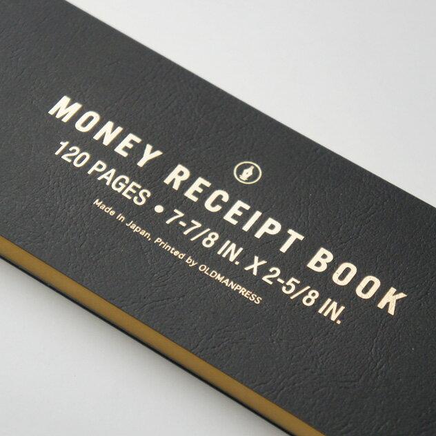 活版印刷で作られた、クラシカルなデザインのおしゃれな領収書